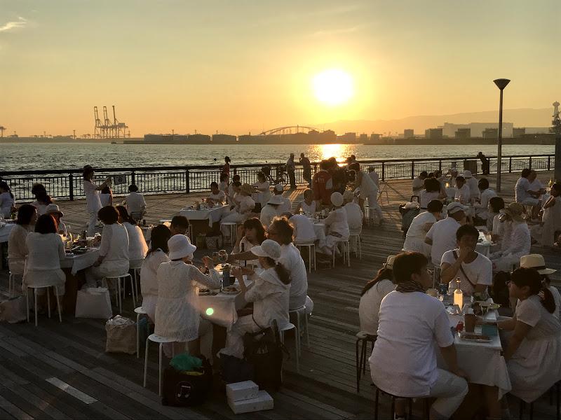 大阪港で夕陽が一番綺麗な場所