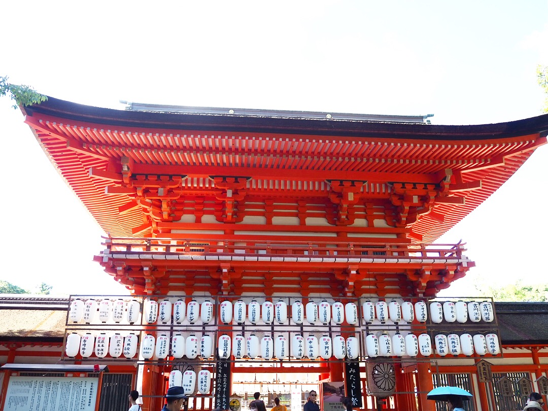 世界文化遺産下鴨神社へ!