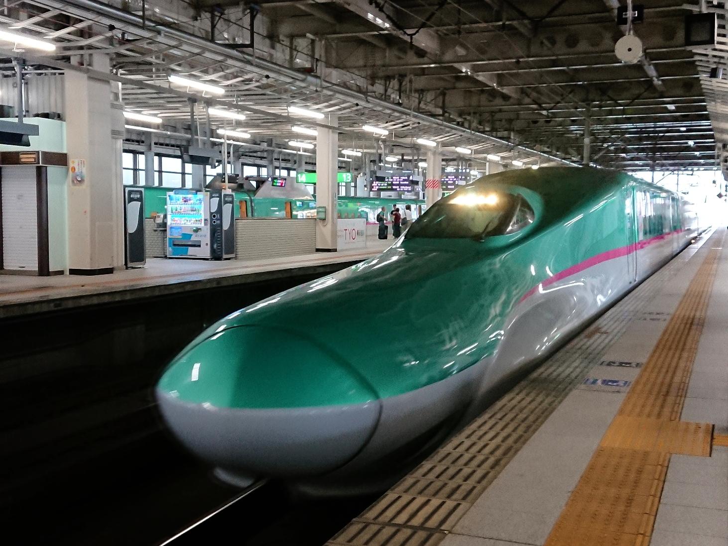新幹線で行く☆函館の旅①