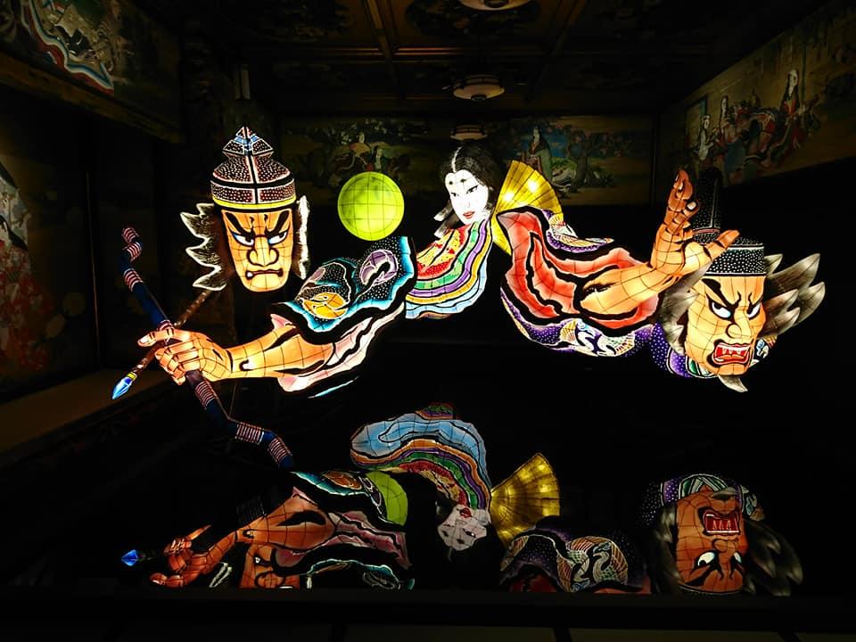 【ホテル雅叙園東京】文化財とアートイルミネーション「和のあかり展」