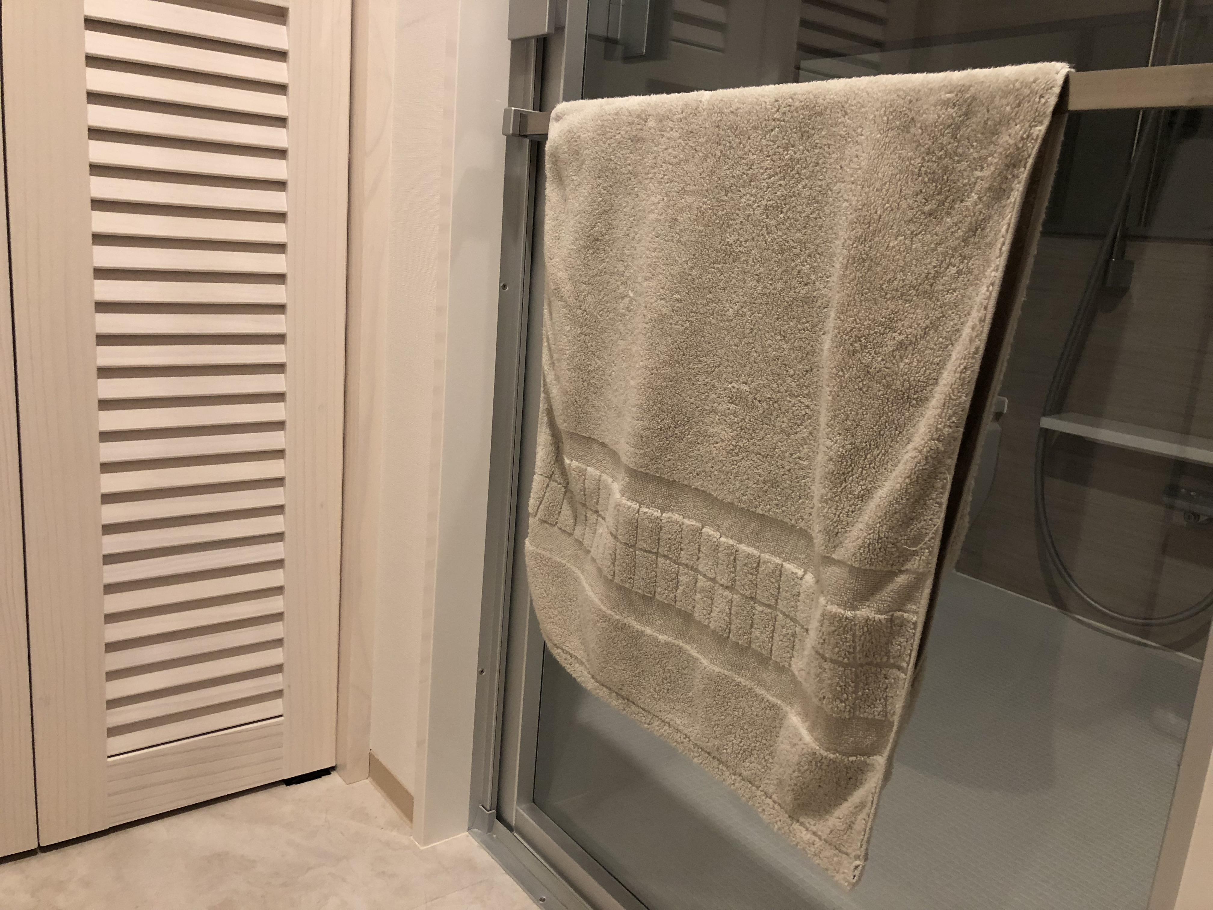 洗濯物が劇的に減る!バスタオルを変えるだけで洗濯のお悩み解消!