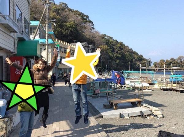 伊豆半島大瀬崎で、知らぬ間に「あまんちゅ!」聖地訪問
