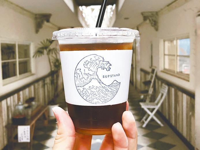 コーヒーとアートを楽しめるカフェ「SUP STAND(サップ スタンド)」