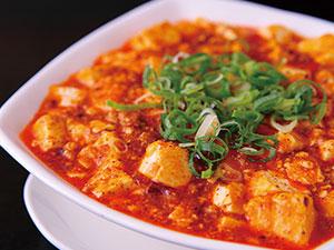 ウマ辛麻婆豆腐