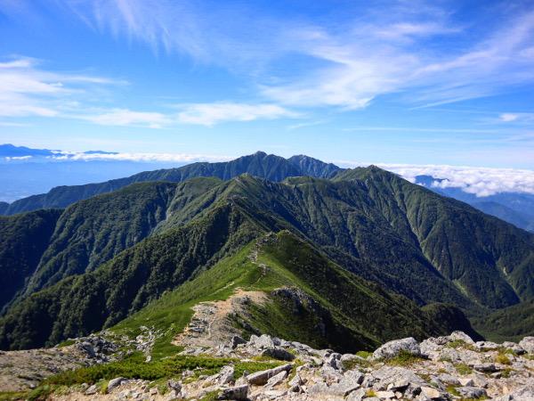 【登山】絶景の稜線縦走!千畳敷カール⇒日本百名山『空木岳』