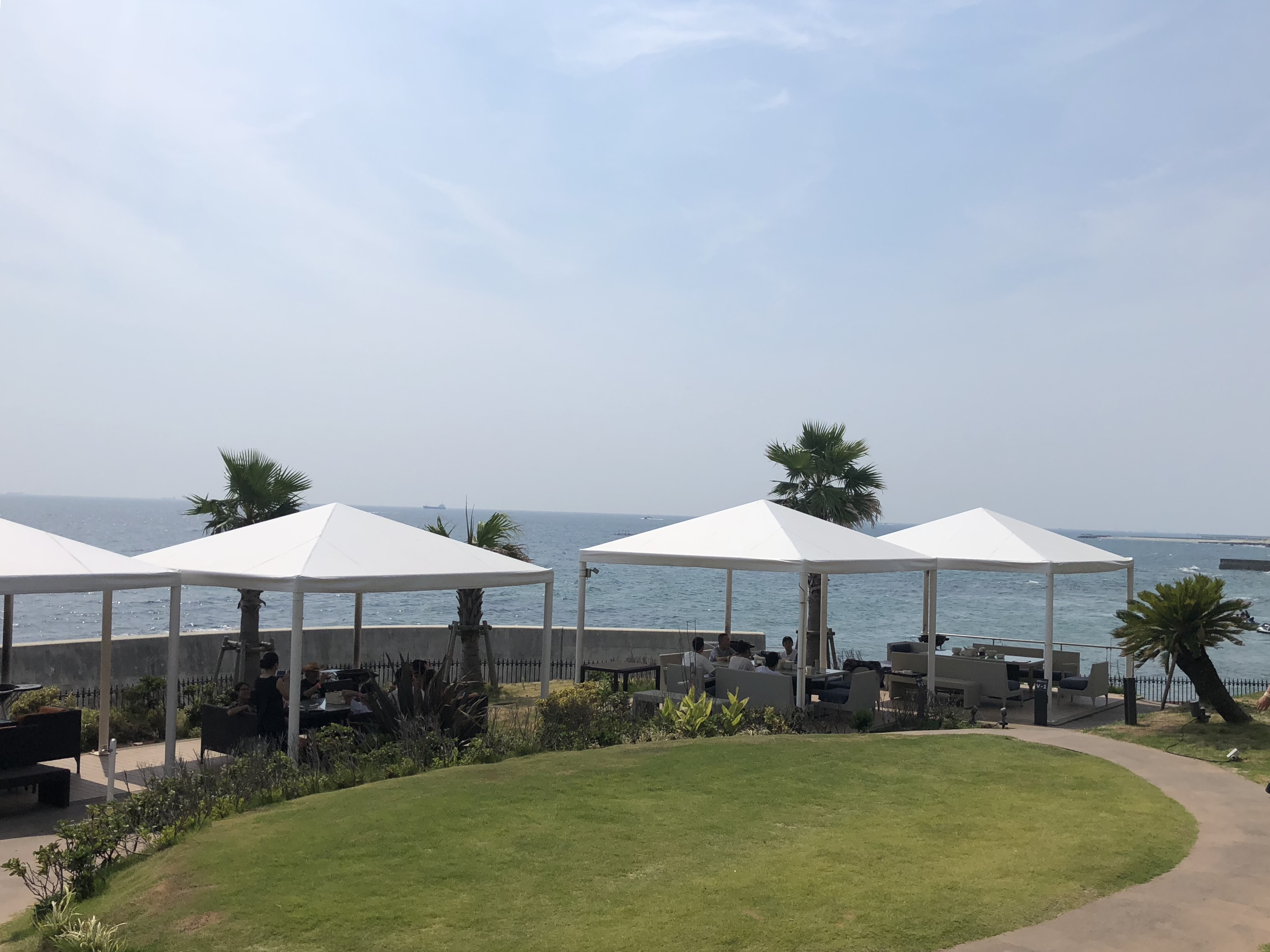 愛知県南知多町で海を眺めながらBBQ女子会∀⌒☆