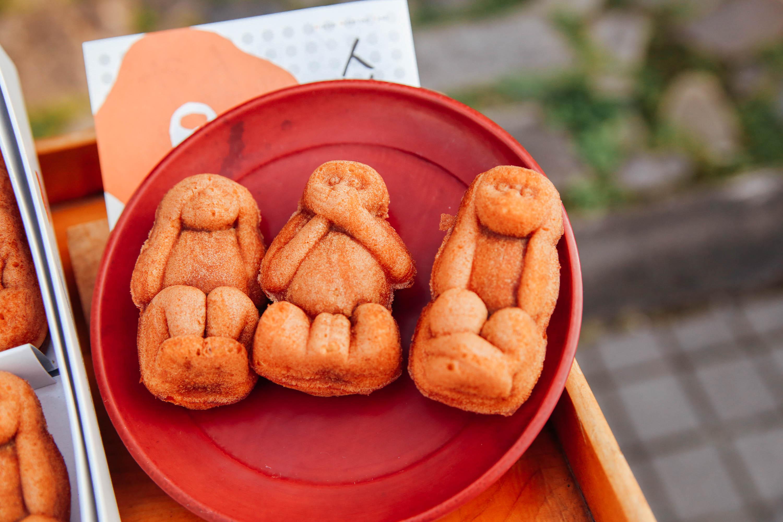 <<フォトジェニック>>三猿の人形焼!!