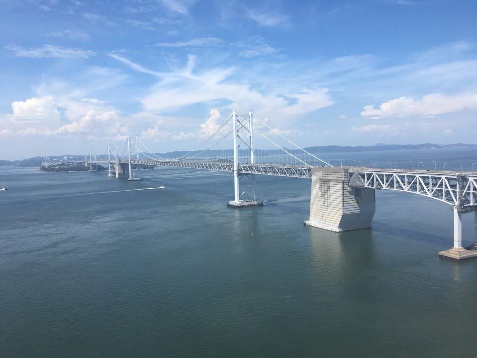 真夏の香川県へ◎快晴の瀬戸大橋は何よりもフォトジェニック!