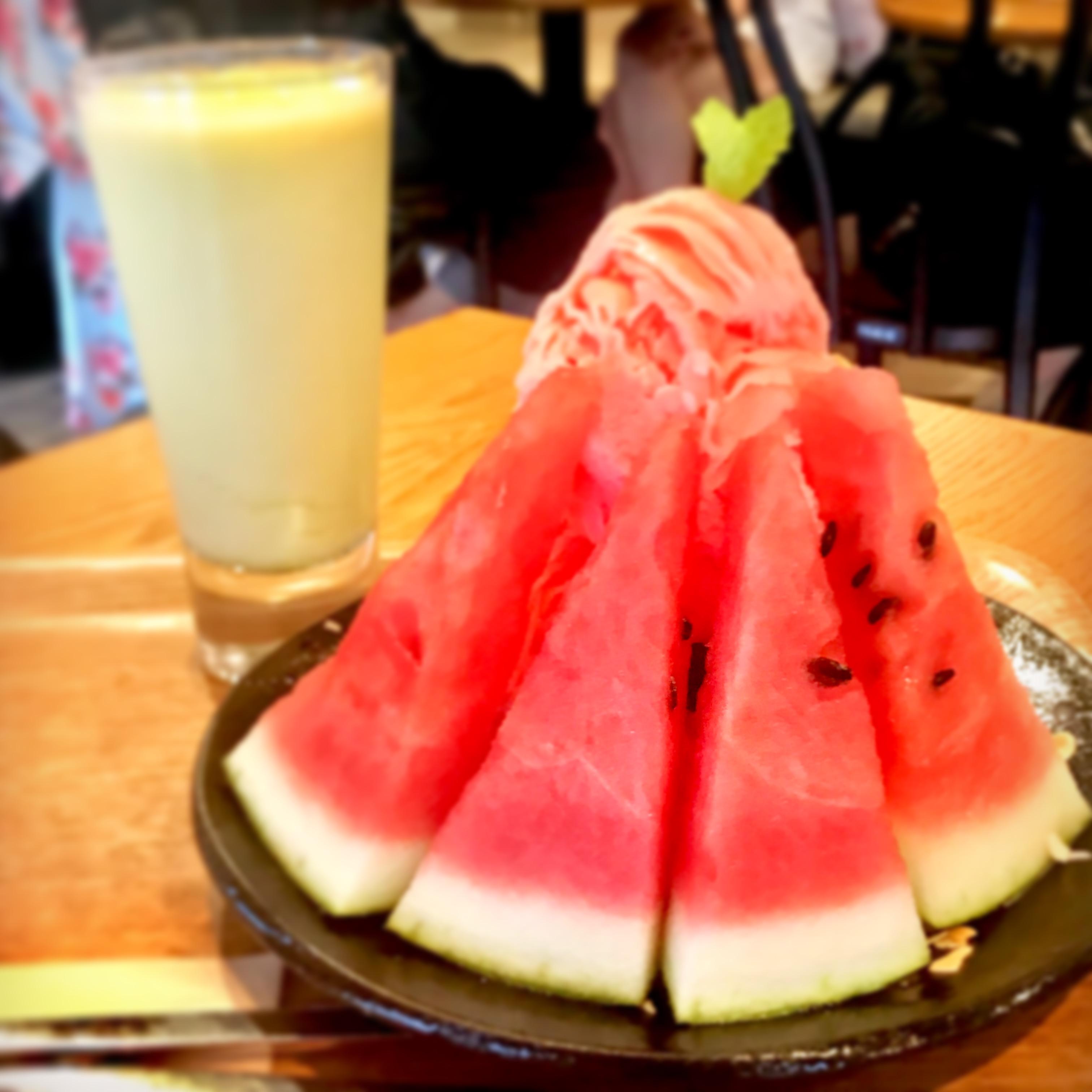 かき氷食べ歩き⑥聖地・新大久保にある一番美味しい韓国かき氷!ホミビン♪