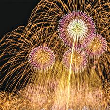 【223】有名花火師たちの競演「やつしろ全国花火競技大会」10/20(土)