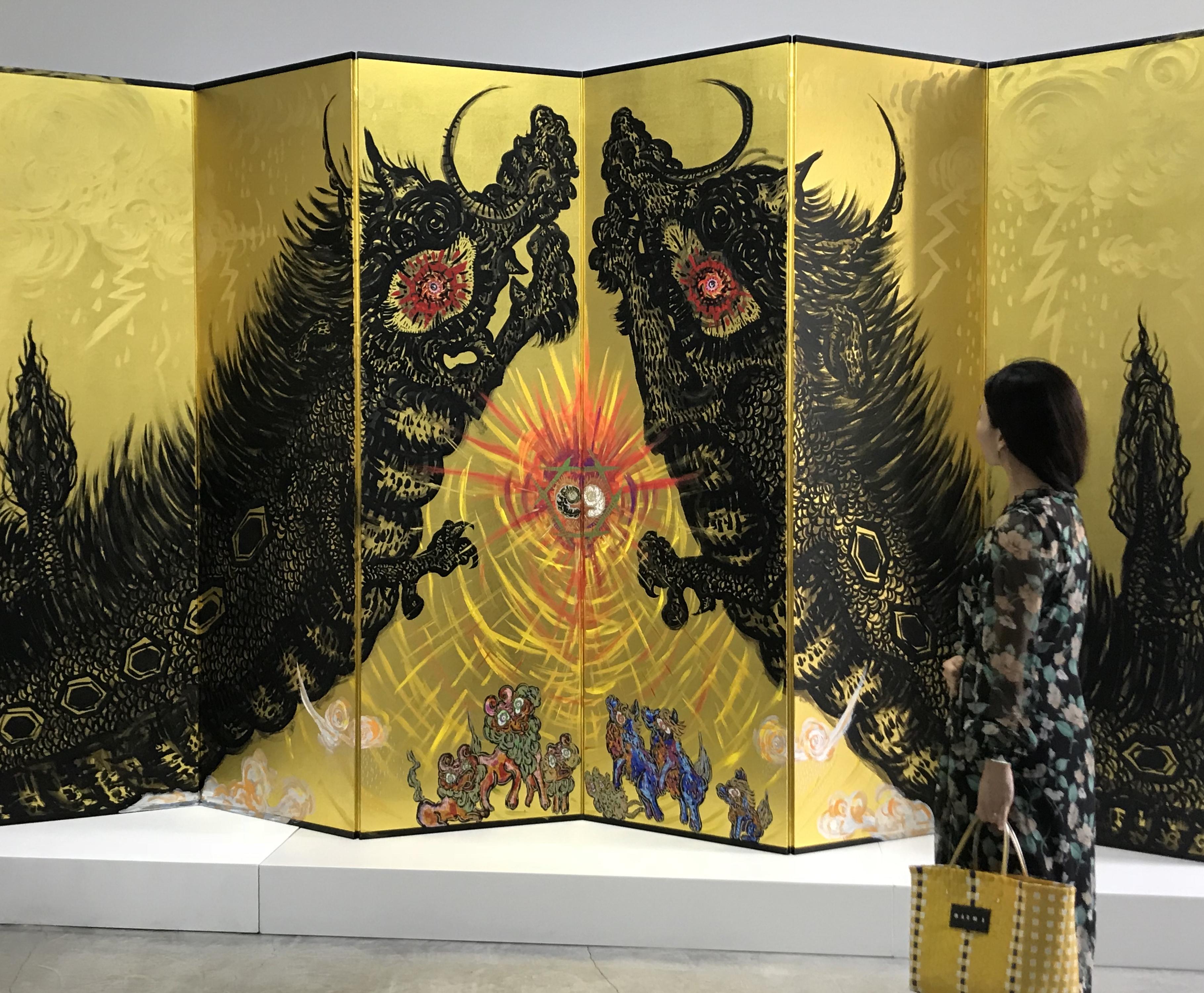芸術の秋は小松美羽さんの展覧会へ☺︎