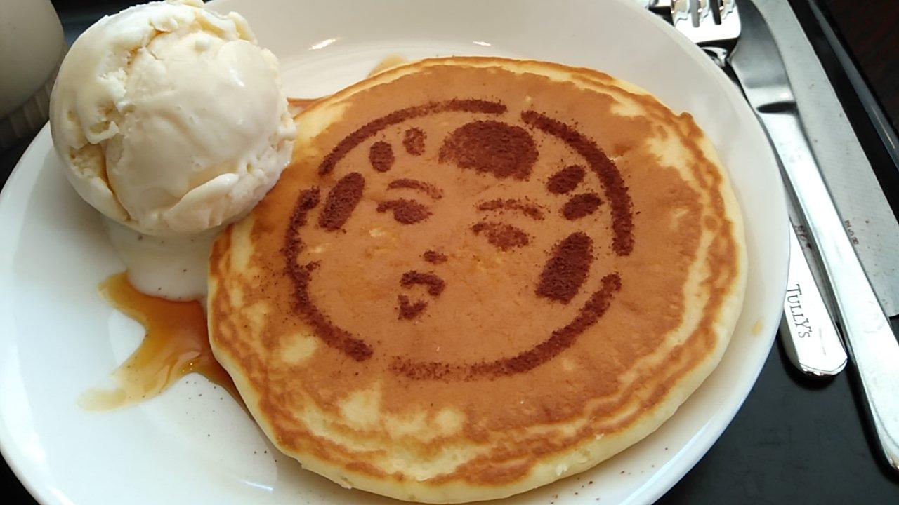 こけしを愛する女子へ送ります☆こけしパンケーキ【んだっちゃー】
