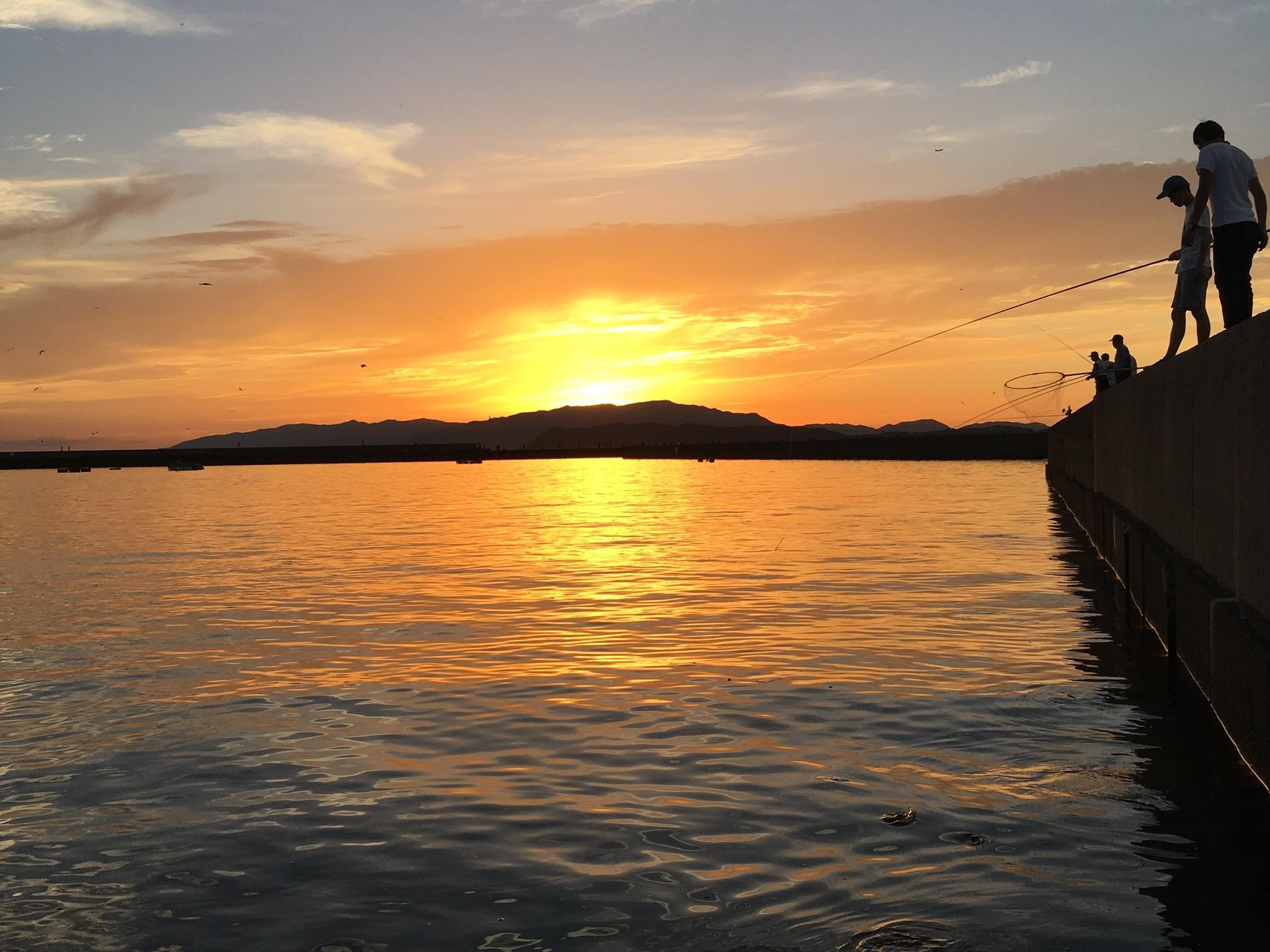 夕陽と海が素敵な和歌山・加太へふらりと行ってきました~