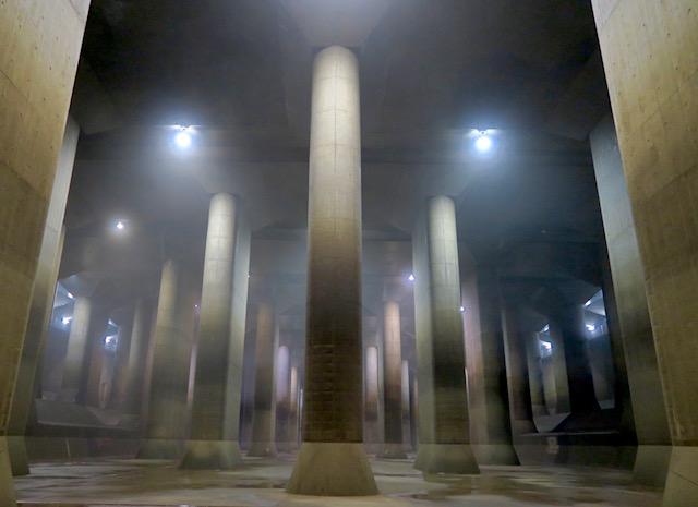 【大人の社会見学】まるで地下神殿!首都圏外郭放水路