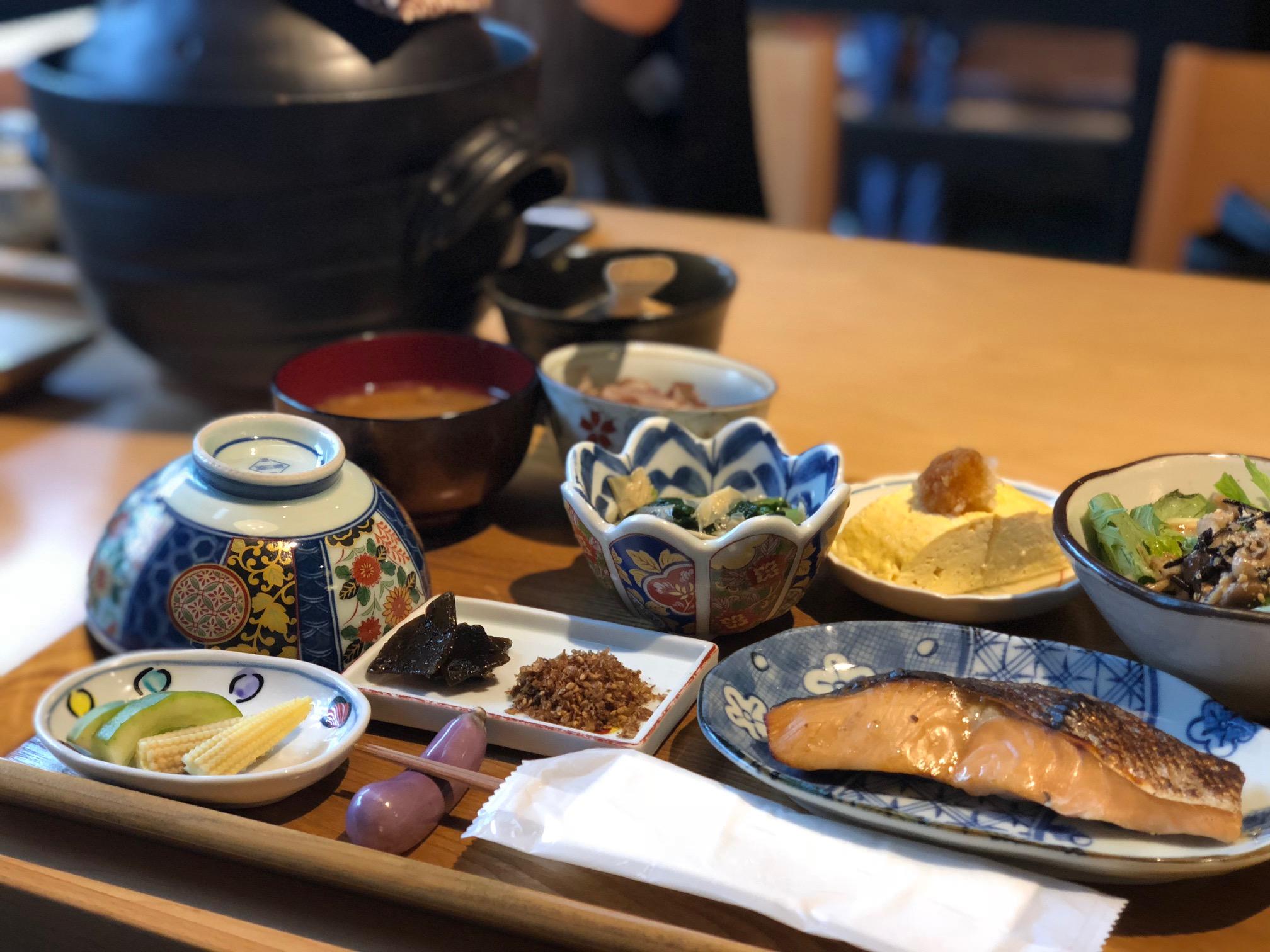 【京都旅】絶品おばんざい朝食から始める京都旅♪