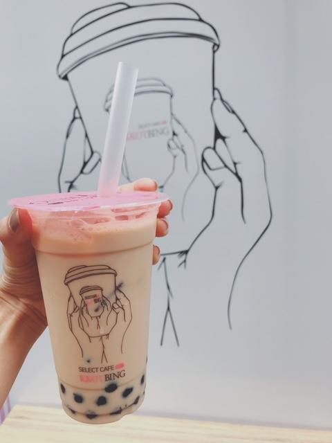 【日本1号店 韓国発カフェのタピオカドリンク】