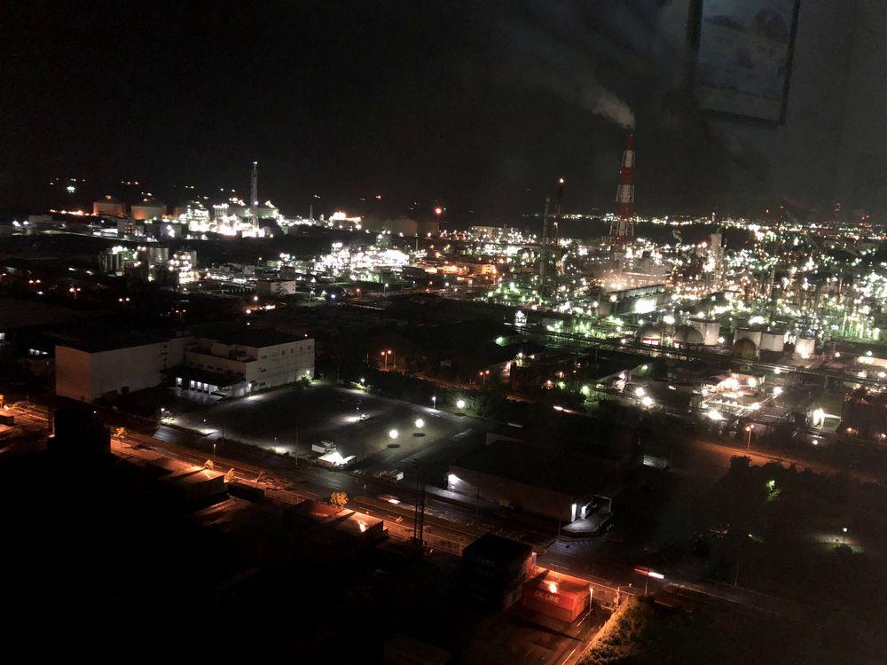 新しい発見♪工場夜景クルーズ