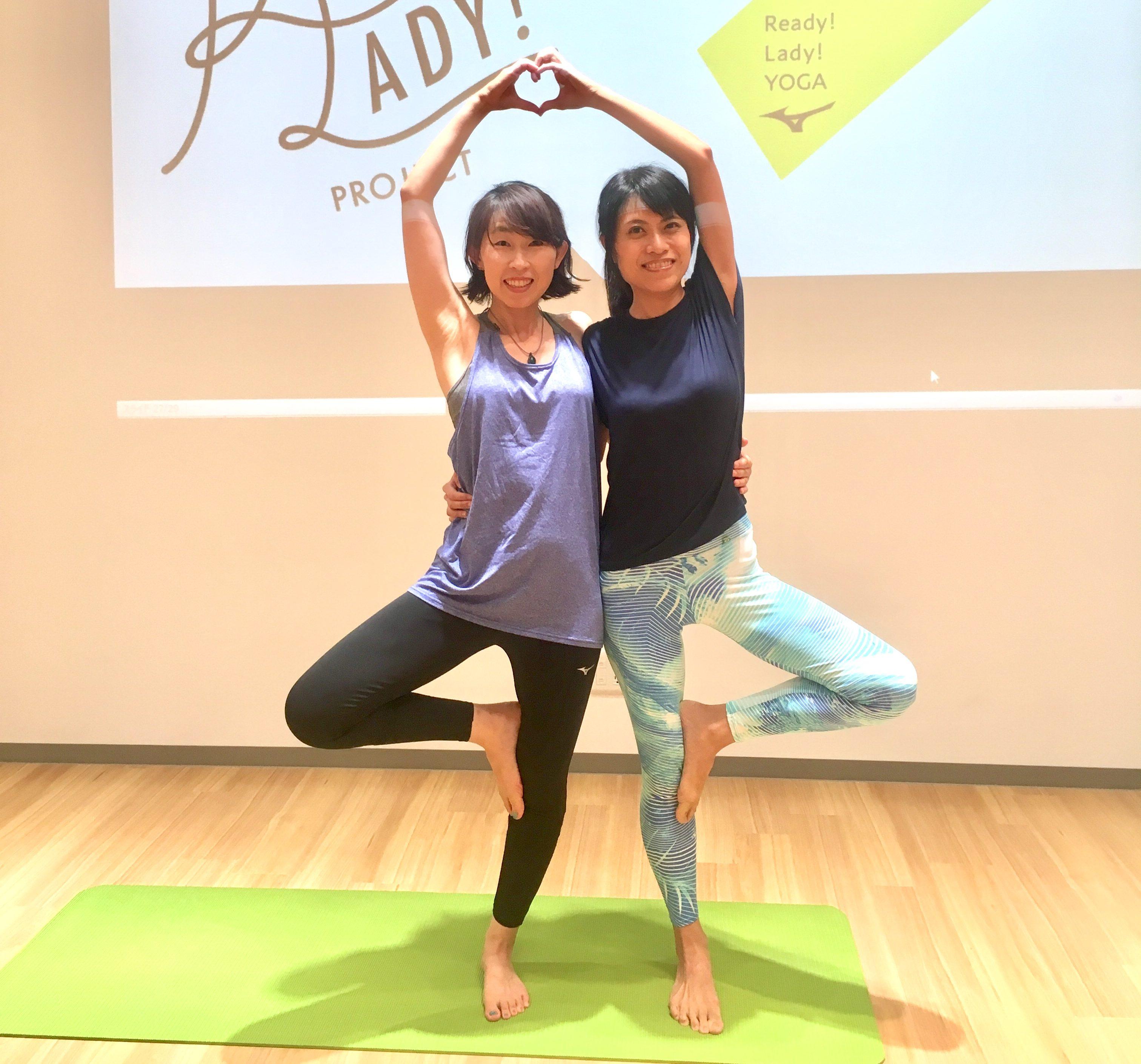 【イベントレポ】ミズノ&資生堂 スペシャルイベント「YOGA & Beauty Seminar」