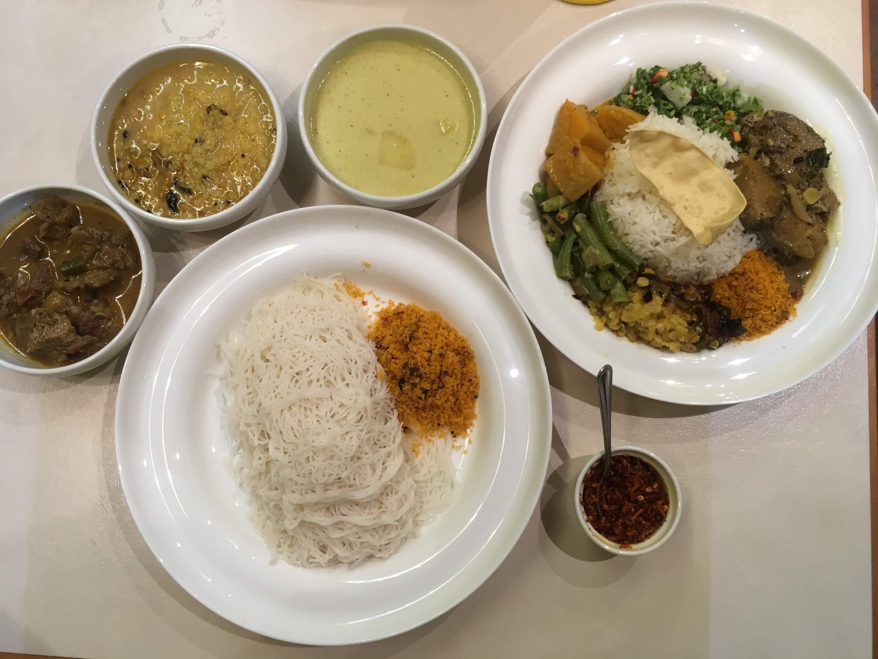 【谷6 スリランカ料理】スリランカ人が作る本格スリランカ料理