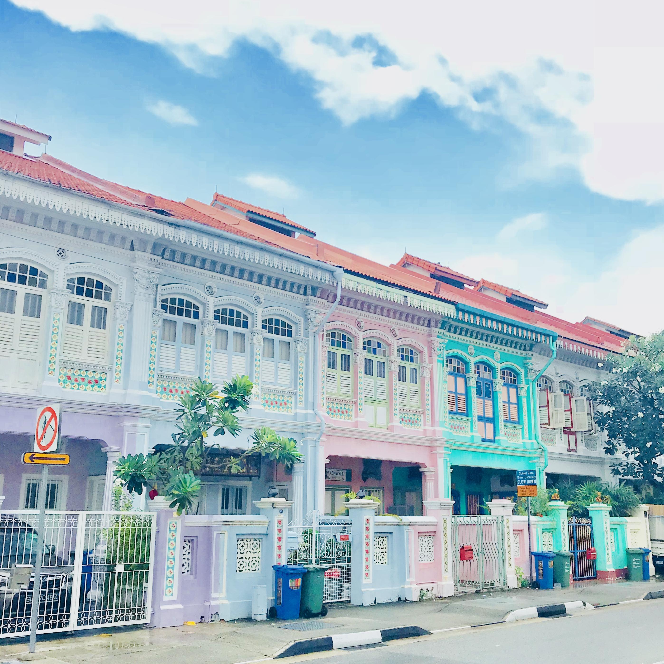 シンガポール女子旅日記③絵本の世界♡フォトジェニックな街並みを撮ろう!