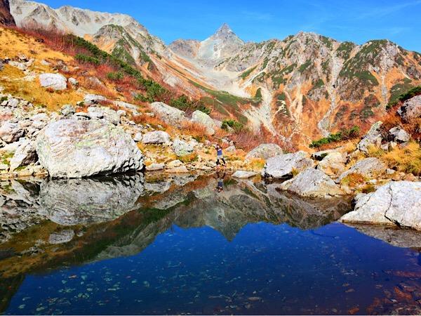 【登山】1泊2日『槍ヶ岳』。アクセス、ルート、絶景スポットを紹介③