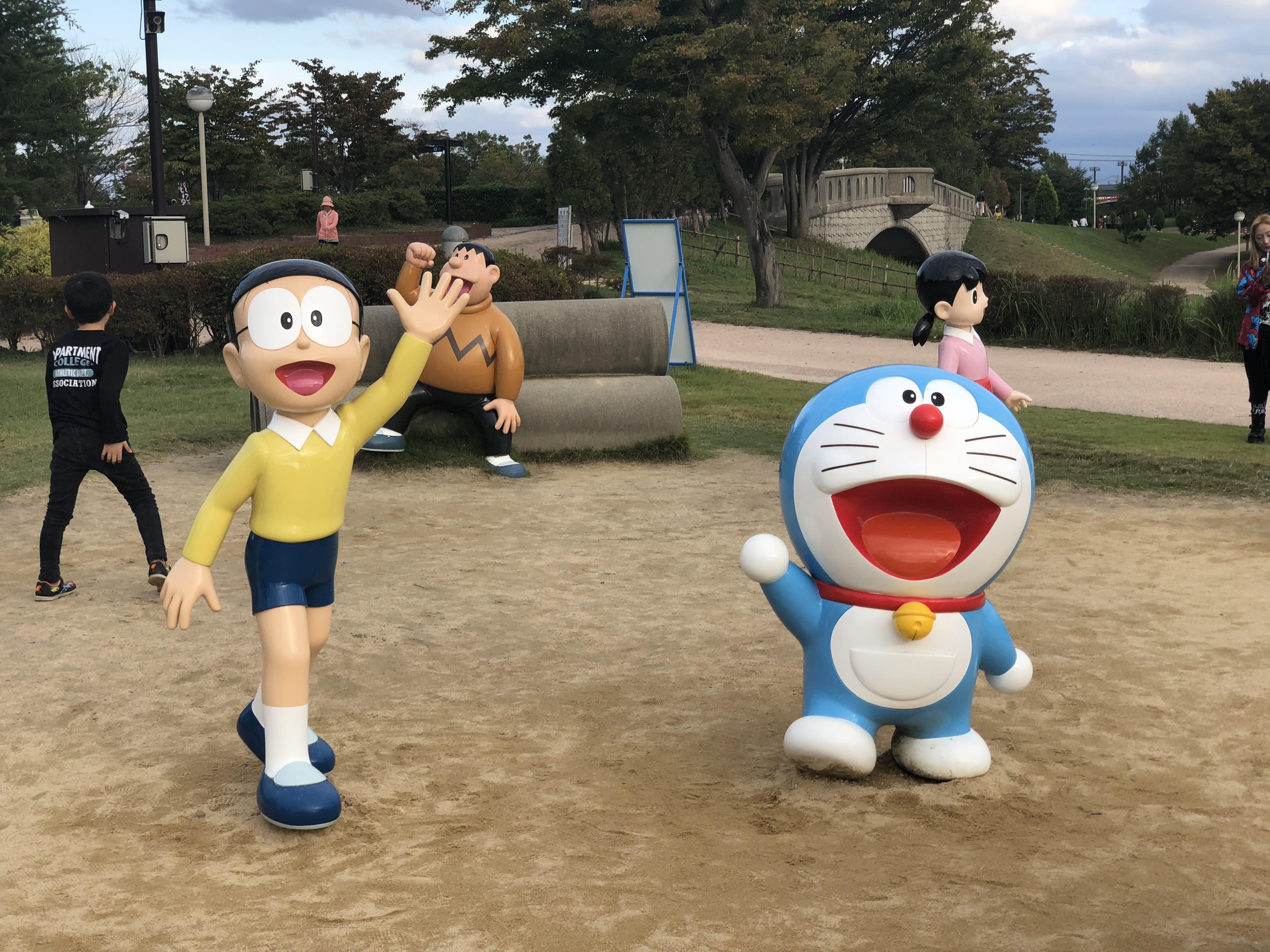 富山観光①ドラえもんへ会いに♥