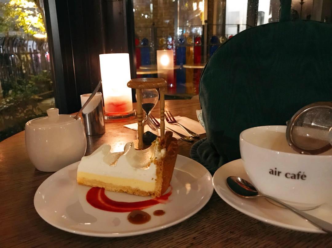 【栄】夜カフェデート♡air cafe