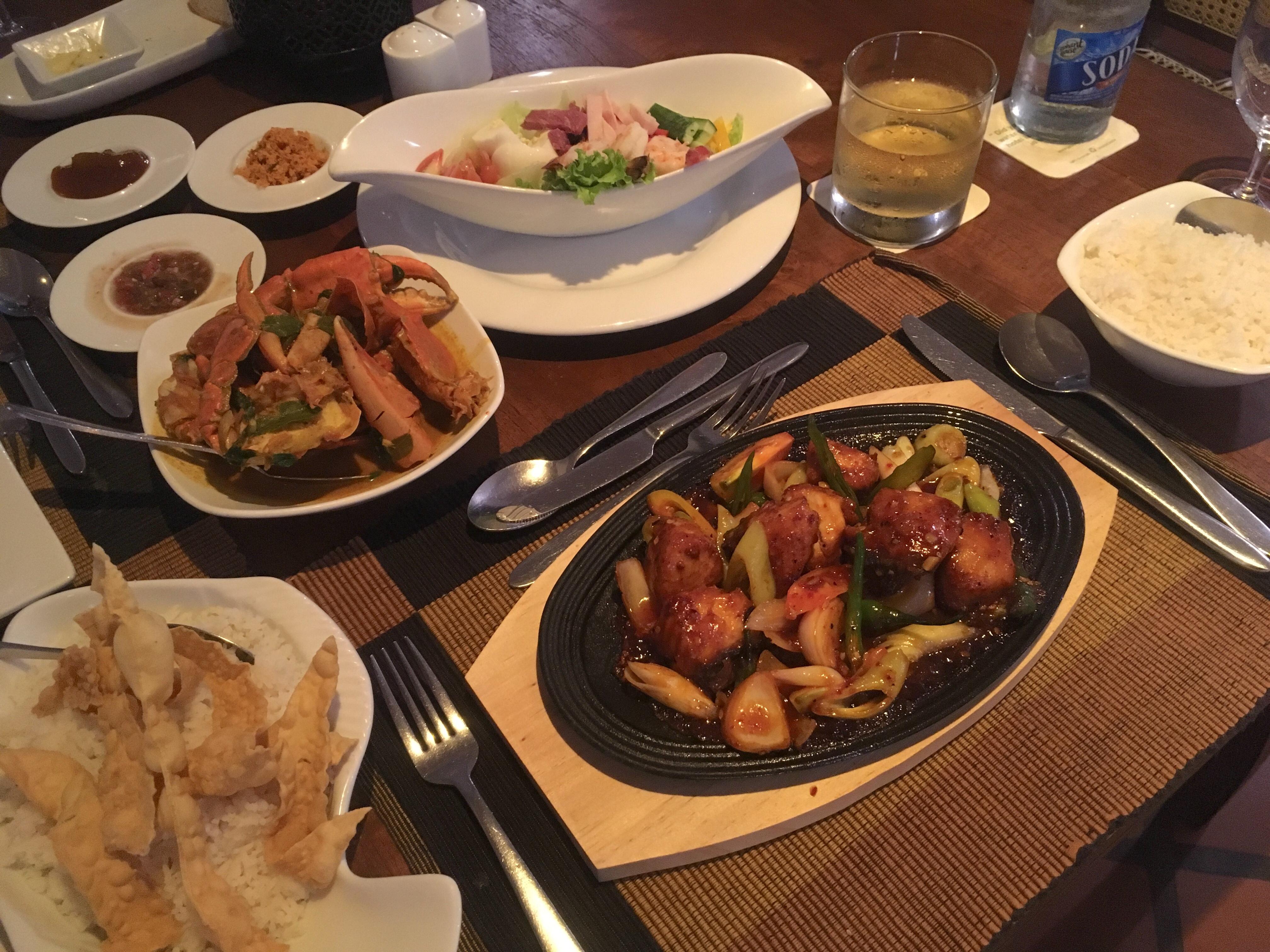 【スリランカ旅行④】グルメ篇~夕食@Jetwing Lagoon