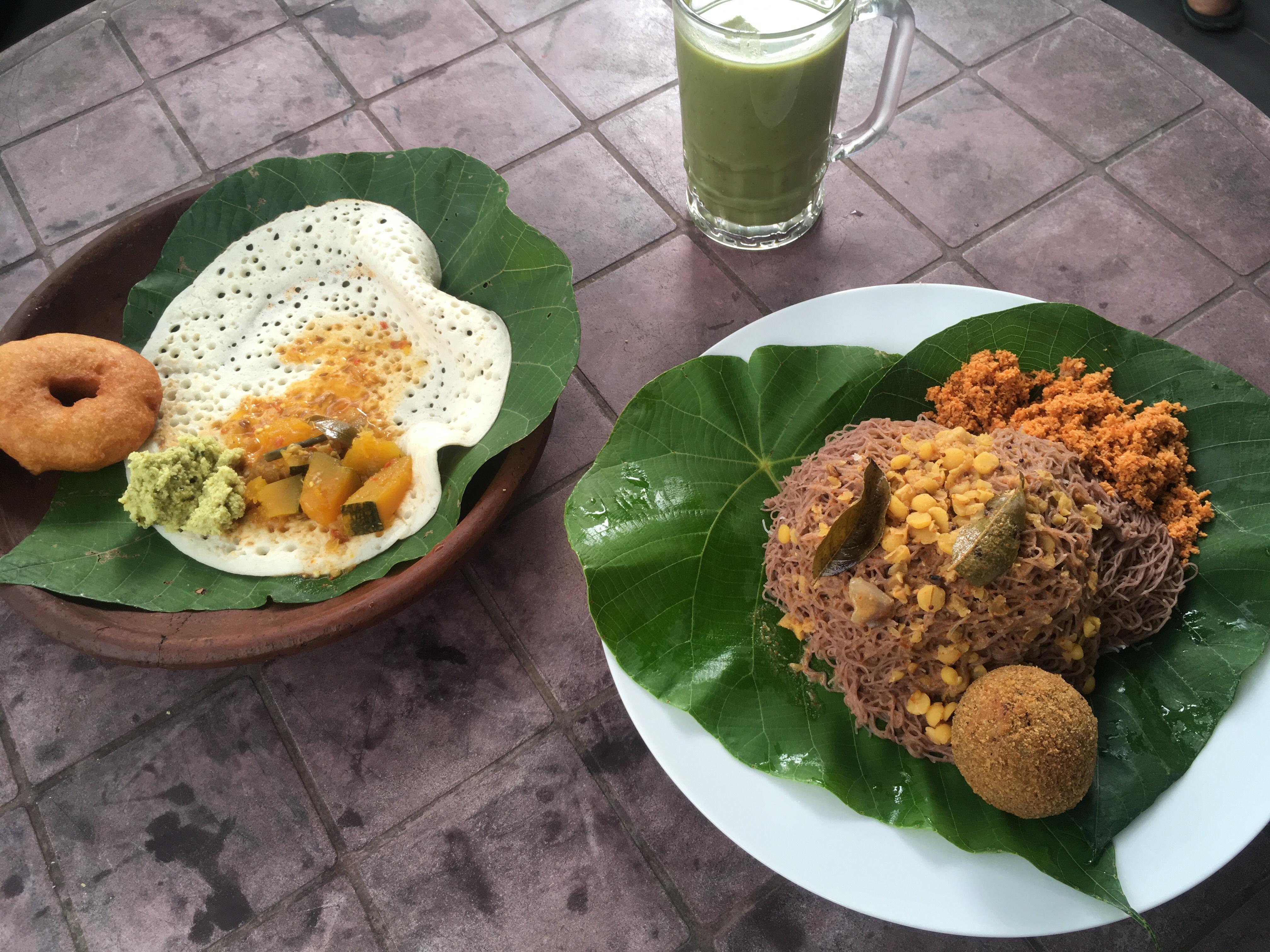 【スリランカ旅行⑤】グルメ篇~ローカルフード朝食