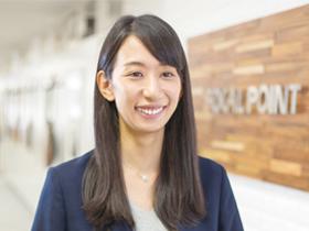 フォーカルポイント 営業部長 石川うららさん(31歳)