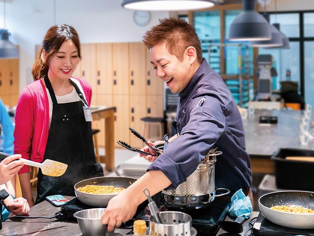 ホテル、レストランなどのスターシェフに学ぶ 上質料理教室