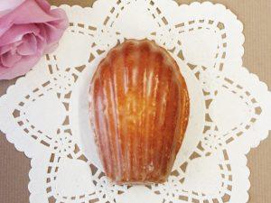 Pâtisserie C'est BO et BONの 「マドレーヌ ミエル シトロン」