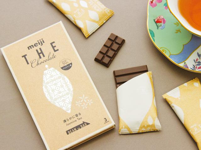もうこれは芸術品。清澄なジャスミンティーが香るチョコレート