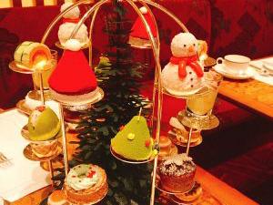 ペニンシュラ東京のクリスマスアフタヌーンティー♪