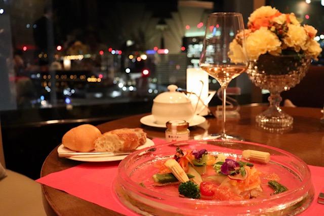 【横浜】横浜ベイシェラトンの最上階にある素敵なレストラン♡