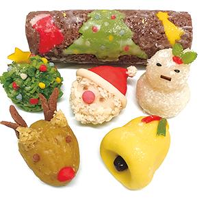 【344】味のバリエーションも楽しめる! 和菓子で祝うクリスマス12/18(火)