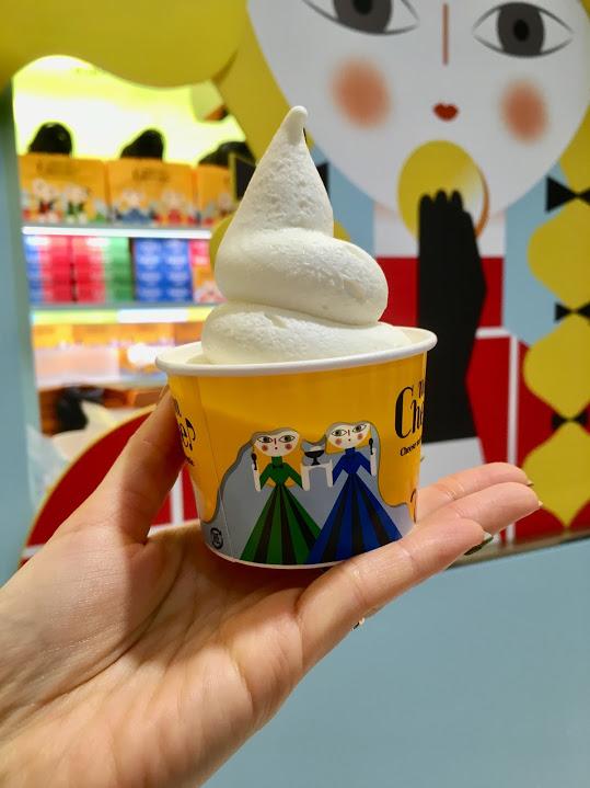 まるでレアチーズケーキ!?な絶品ソフトクリームが新宿ルミネに新登場