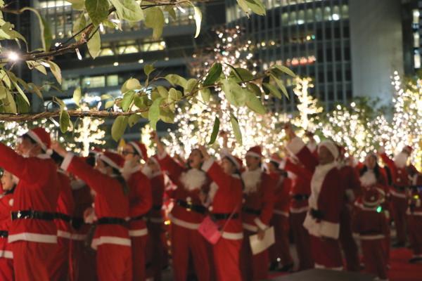 """大名古屋ビルヂングのクリスマスイルミネーションは""""デート""""におすすめ♡"""