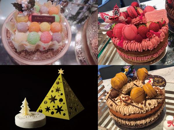 洗練されたデザインにうっとり♪ ホテルメイドのクリスマスケーキをチェック!