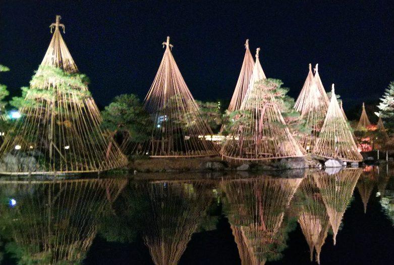 【名古屋お勧め観光】幻想的な夜の紅葉~白鳥庭園あかりアート~