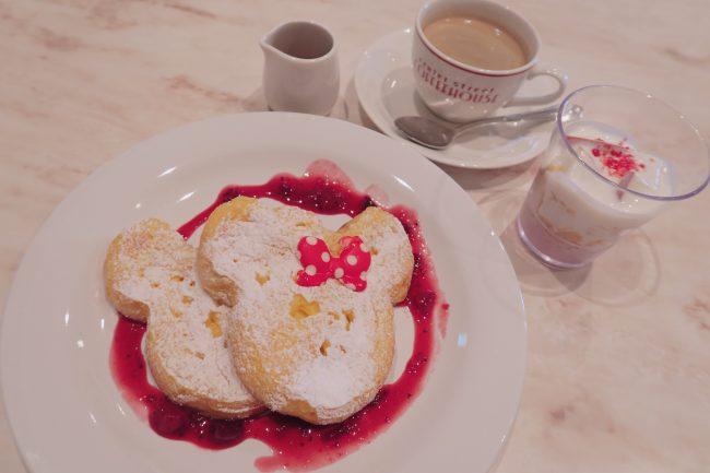 ディズニーランドで朝食を♪朝限定・激カワ!ミッキーフレンチトースト