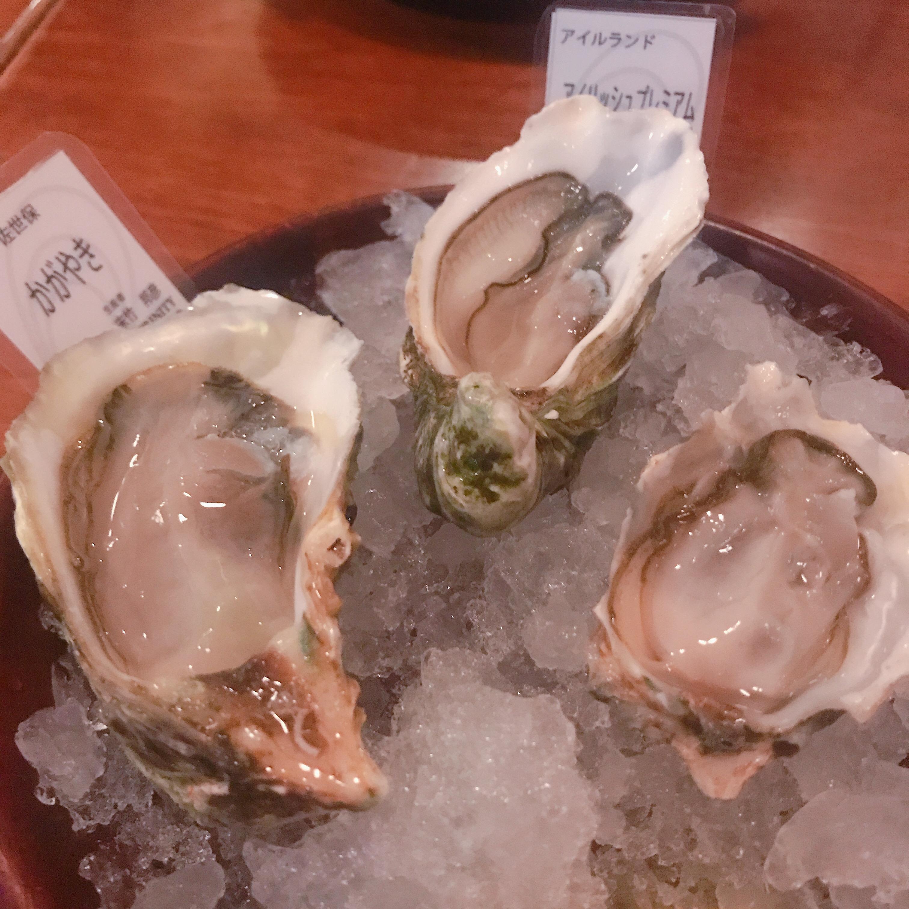 【銀座】牡蠣好きのためのコース♩
