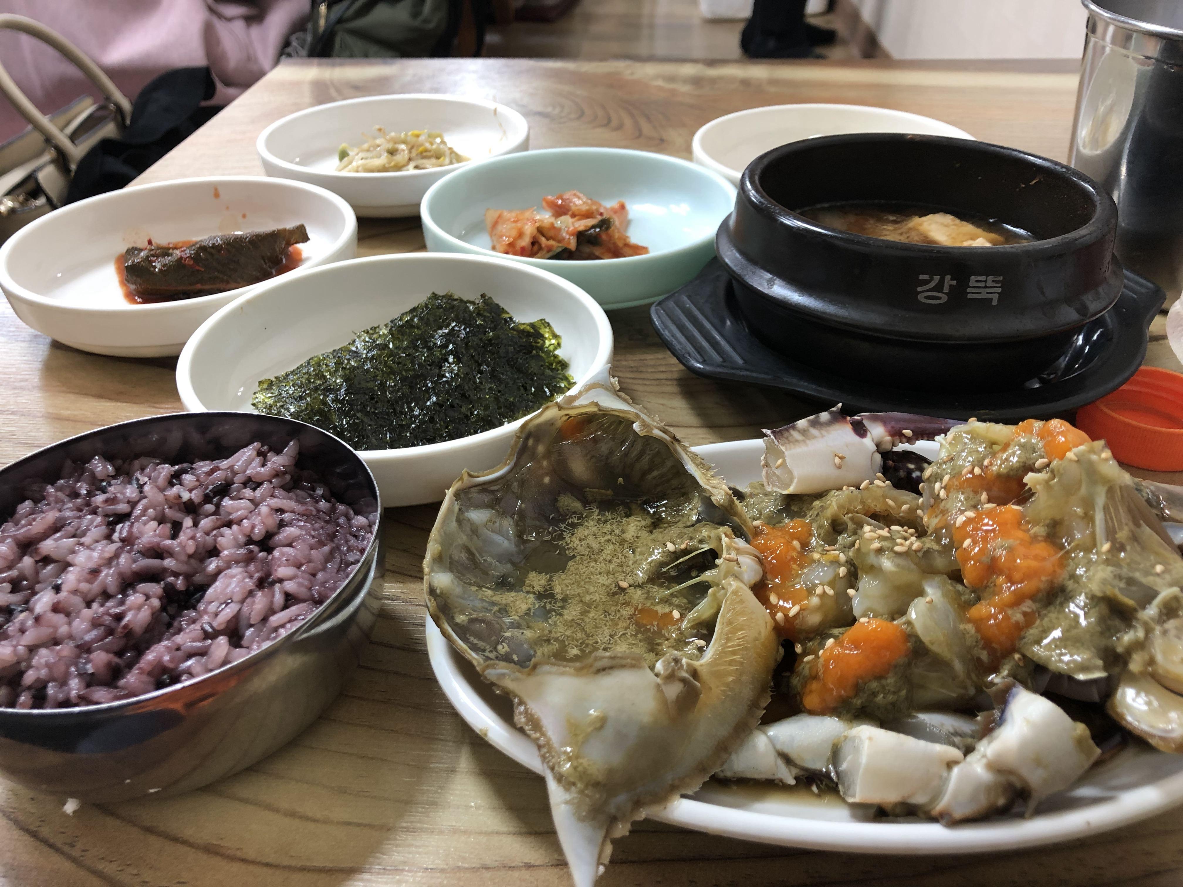 冬の韓国ソウルで絶品カンジャンケジャンを食す♪