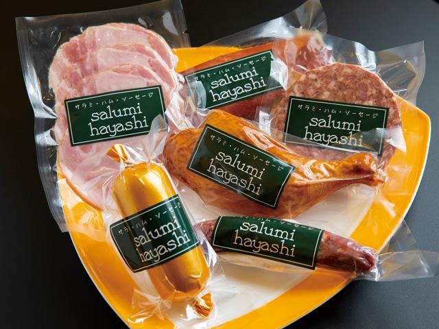 肉の旨みと甘みを最大限に生かした自家製ハムやサラミの専門店