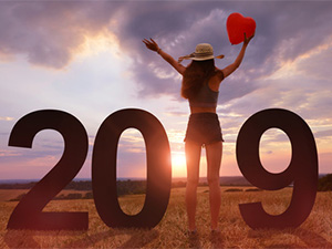 2019年の恋愛運を高める、干支別風水術