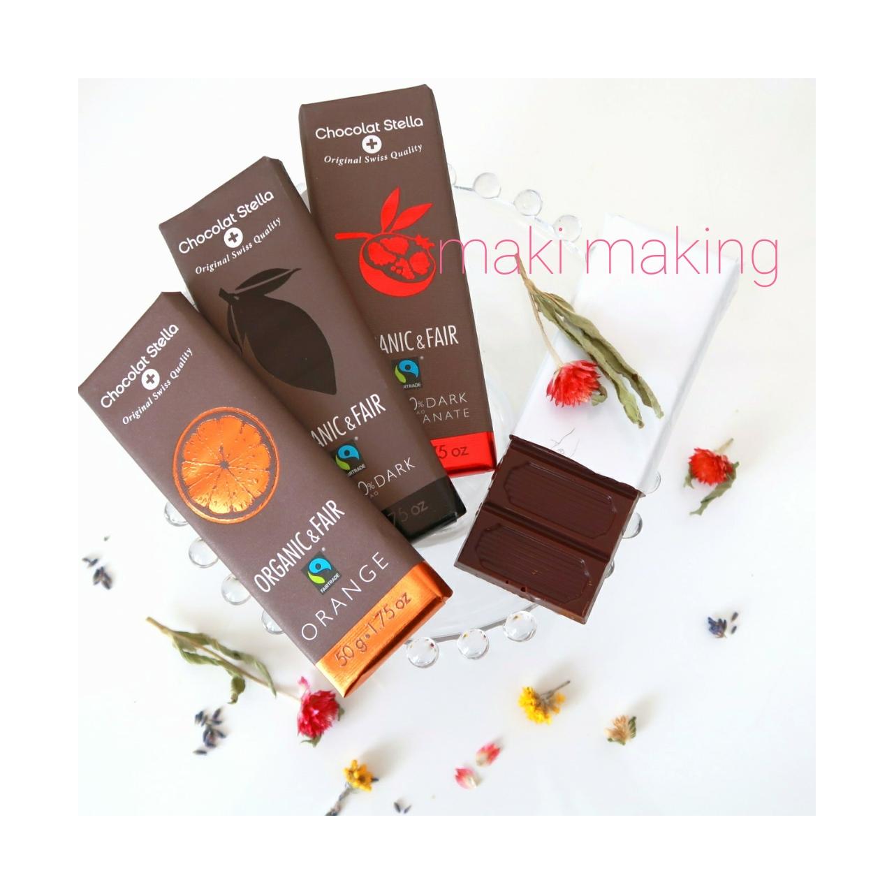 せっかくなら、チョコレートも体に優しい素材のものを