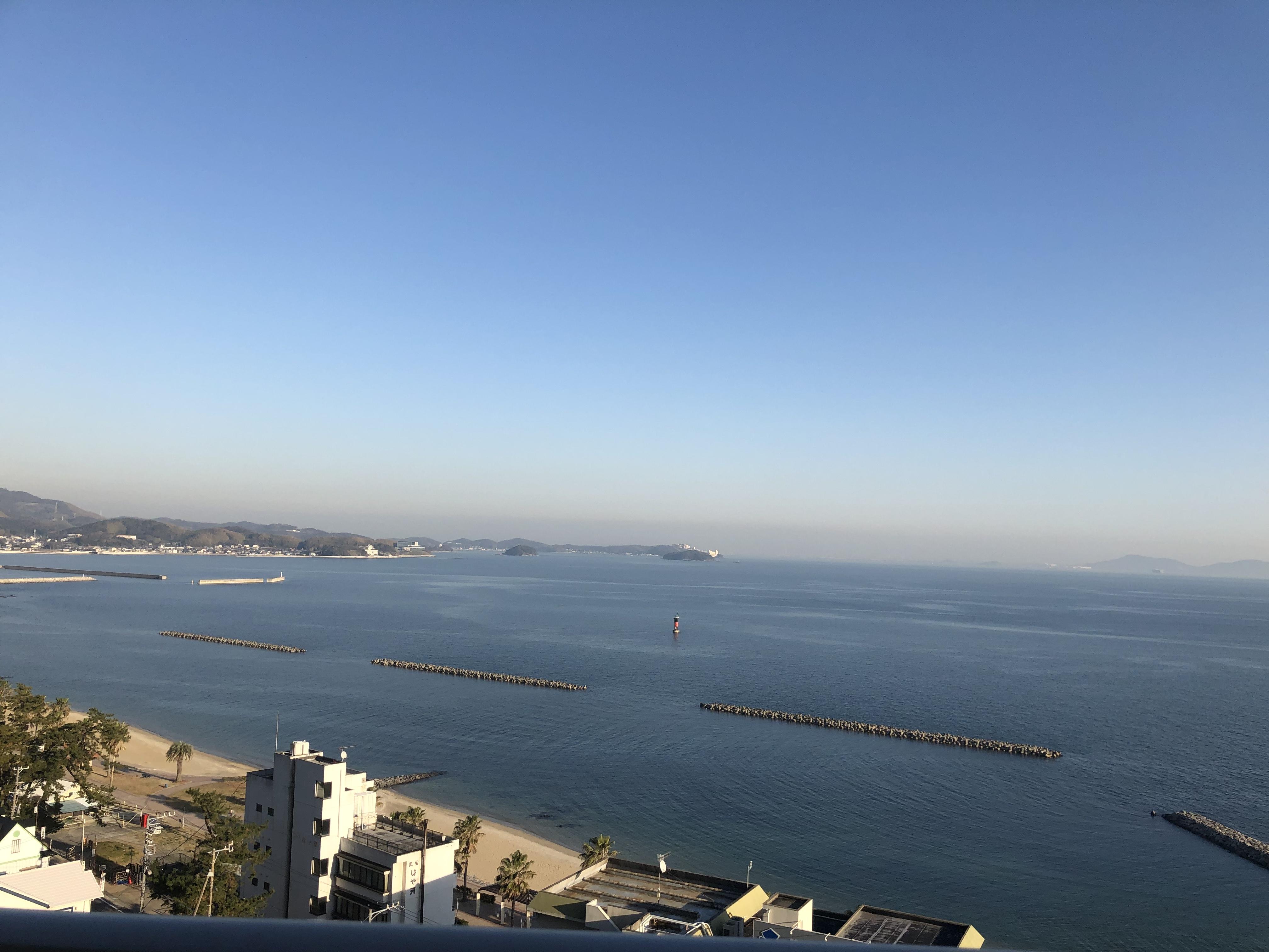 三河湾が一望できるホテル♥
