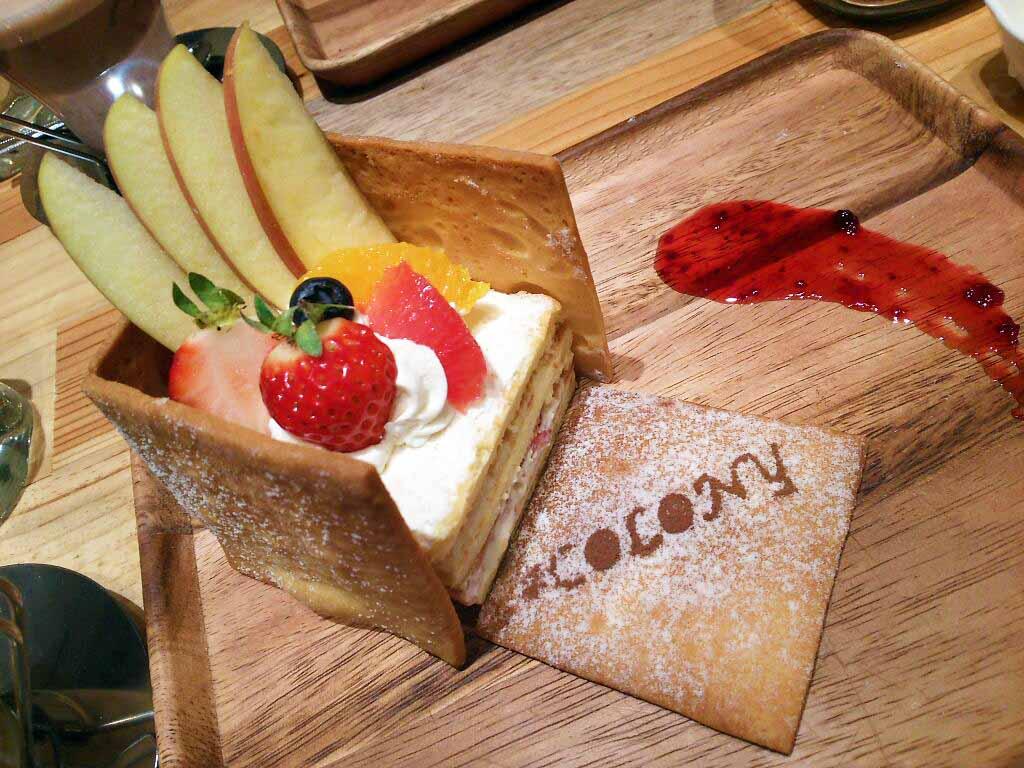 「見た目・味・品質」にこだわったBOX型のショートケーキ in 難波