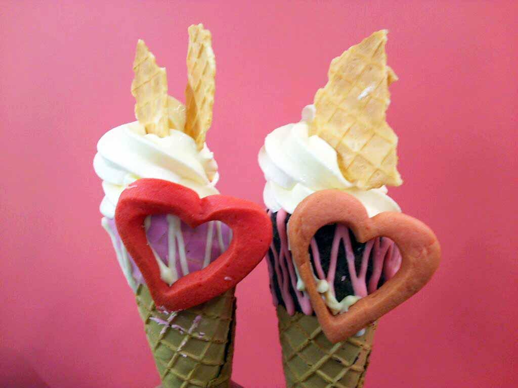 【バレンタイン限定】キュンとする♡フォトジェニックアイスクリーム in 京都