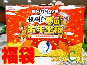 【福袋2019】4倍以上?!ヨドバシカメラの夢のお年玉箱の内容ネタバレ
